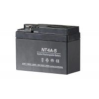 NT4A-5 バッテリー 液入 4A-BS互換 5個セット