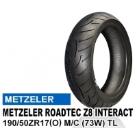 METZELER ROADTEC Z8 INTERACT 190/50ZR17 (O) M/C (73W) TL