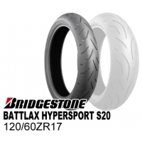 BRIDGESTONE BATTLAX HYPERSPORT S20 120/60ZR17 M/C (55W) TL