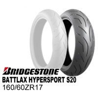 BRIDGESTONE BATTLAX HYPERSPORT S20 160/60ZR17 M/C (69W) TL