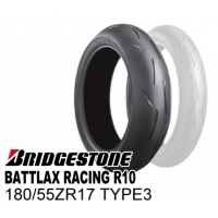 BRIDGESTONE BATTLAX RACING R10 180/55ZR17 TYPE-3