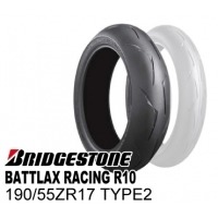 BRIDGESTONE BATTLAX RACING R10 190/55ZR17 TYPE-2  MCR03206