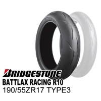 BRIDGESTONE BATTLAX RACING R10 190/55ZR17 TYPE-3  MCR03207
