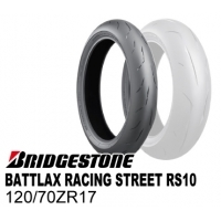 BRIDGESTONE BATTLAX RACING STREET RS10 120/70ZR17  MCR05112