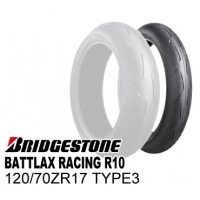 BRIDGESTONE BATTLAX RACING R10 120/70ZR17 TYPE-3