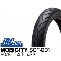 IRC MOBICITY SCT-001 90/80-14 TL 43P フロント