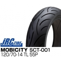 IRC MOBICITY SCT-001 120/70-14 TL 55P フロント