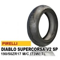 PIRELLI DIABLO SUPER CORSA SP V2 190/50ZR17 (73W) 2304300 JAN 8019227230437