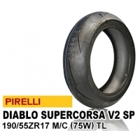 PIRELLI DIABLO SUPER CORSA SP V2 190/55ZR17 (75W) 2304500 JAN 8019227230451