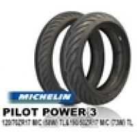 MICHELIN PILOT POWER3 120/60ZR17 & 160/60ZR17【前後セット】 JAN 4580318978810