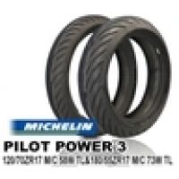MICHELIN PILOT POWER3 120/70ZR17 & 180/55ZR17【前後セット】JAN 4580318978834