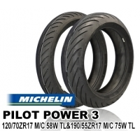 MICHELIN PILOT POWER3 120/70ZR17 & 190/55ZR17【前後セット】 JAN 4580318978858