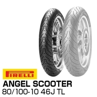 PIRELLI ANGEL SCOOTER 80/100-10 46J TL 2903300