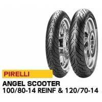 ANGEL SCOOTER 100/80-14 M/C REINFTL 54S TL & 120/70-14 M/C 55P TL