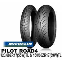 MICHELIN PILOT ROAD4 120/60ZR17 & 160/60ZR17【前後セット】 JAN 4580318979169