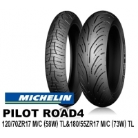MICHELIN PILOT ROAD4 120/70ZR17 & 180/55ZR17【前後セット】 JAN 4580318979183