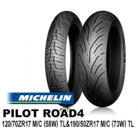 MICHELIN PILOT ROAD4 120/70ZR17 & 190/50ZR17【前後セット】 JAN 4580318979190