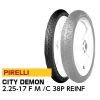 PIRELLI CITY DEMON 2.25-17 F M/C 38P REINF  1102900