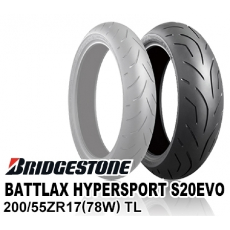 BRIDGESTONE BATTLAX HYPERSPORT S20EVO 200/55ZR17 (78W) TL