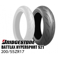BRIDGESTONE BATTLAX HYPERSPORT S21 200/55ZR17 M/C(78W)TL MCR05187