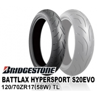BRIDGESTONE BATTLAX HYPERSPORT S20EVO 120/70ZR17 (58W) TL