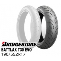【ワケ有り 処分特価品】 BRIDGE STONE BATTLAX SPORTS TOURING T30EVO 190/55ZR17 M/C(75W)TL MCR05140 リアタイヤ 2015年